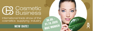 CosmeticBusiness 2020 - New Dates