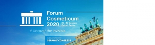 Forum Cosmeticum 2020 - new dates